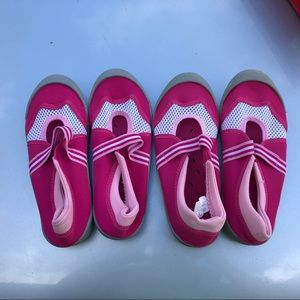 Other - Two Pairs of Water Shoes - Pink - 4 (Girls)
